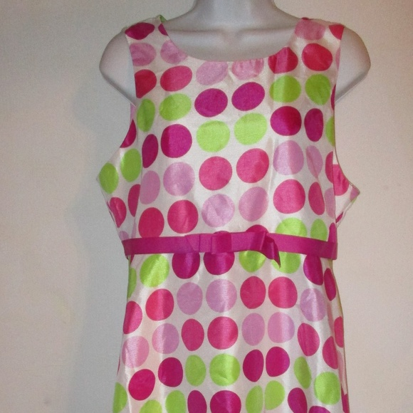 Girls Dress Shop Dresses Pink Polka Dot Easter Dress Girls Plus 20